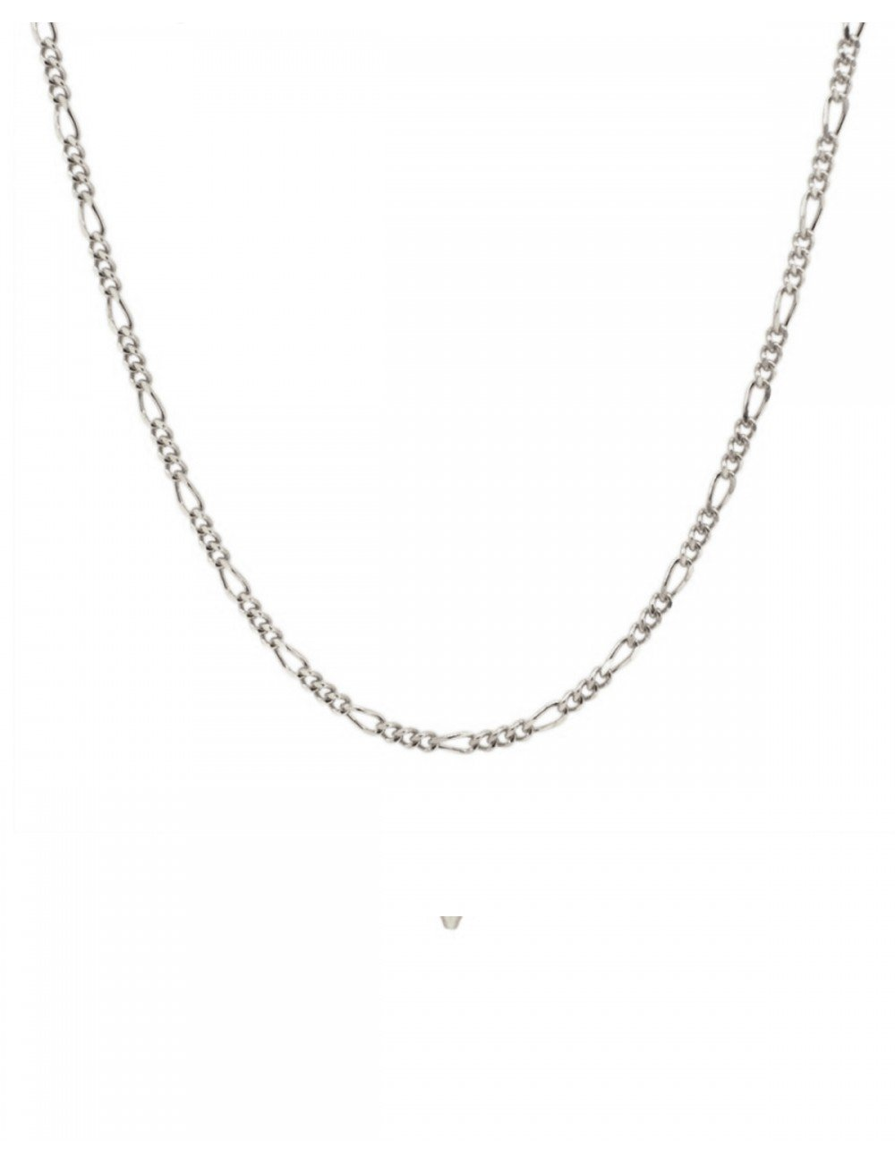 dca3d5fa1a Minimalist figaro chain choker necklace 925 sterling silver.