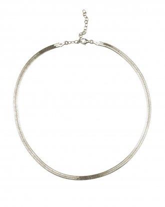 Herringbone silver