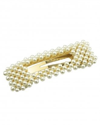 Big Square pearl hair pin