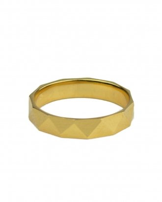 Faceted gold