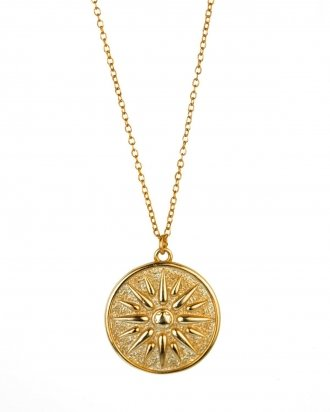 Sun Medallion gold