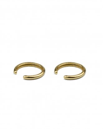 Simple ear cuff gold