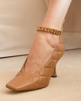 Cycle anklet gold