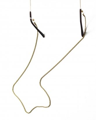 Love glasses chain gold