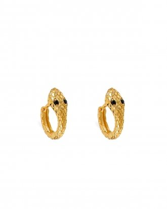 Ophidia gold hoops