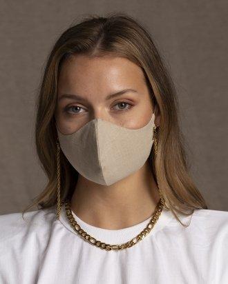 Face Mask Beige