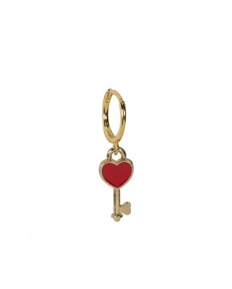 Red keyheart gold