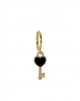 Black keyheart gold