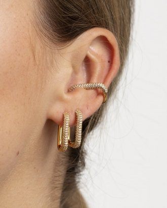 Kay ear cuff gold