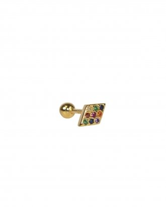 Rainbow piercing gold