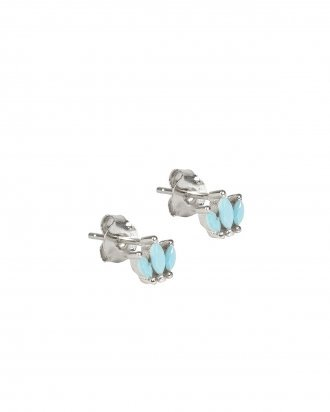 Turquoise studs silver
