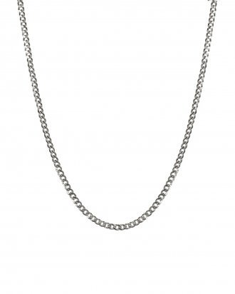Chain choker silver