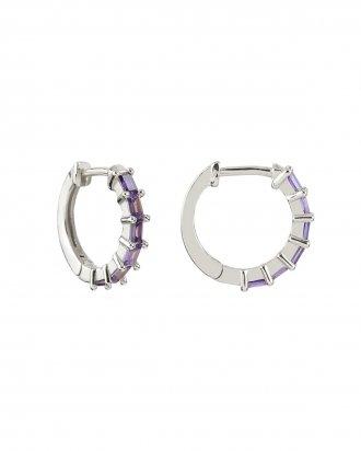 Swan purple silver