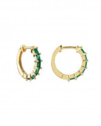 Swan emerald gold