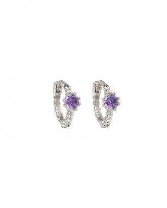 Purple dom silver