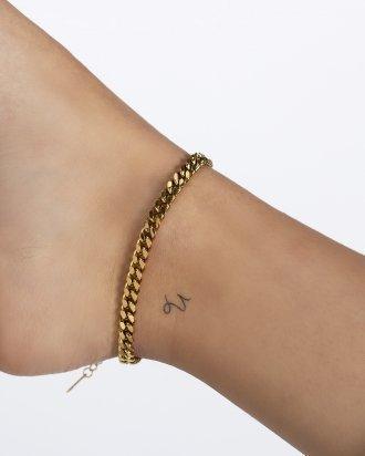 Cuban anklet