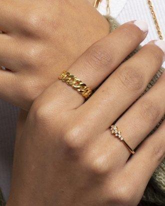 Chunky chain gold